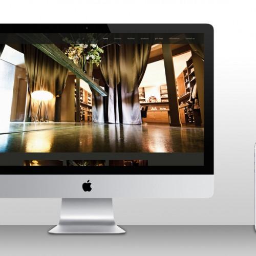 Website design for Spa Eleven