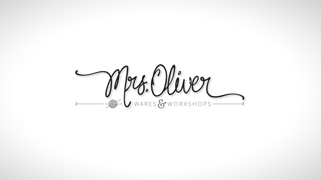 Logo design for Mrs Oliver Wares & Workshops