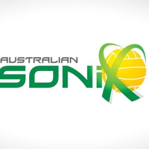 Logo design for Australian Sonix netball team