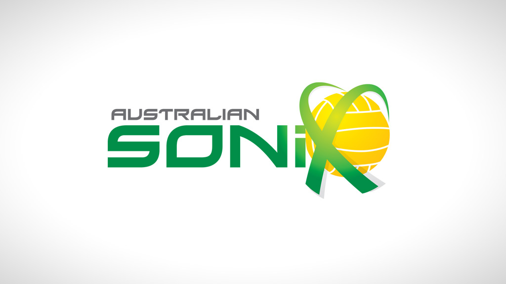 Logo design for Australian Sonix netball team